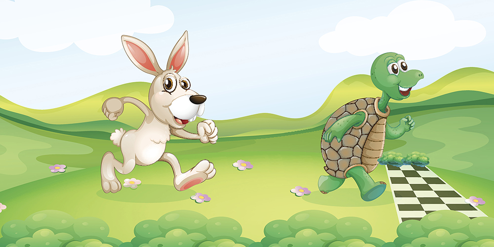 Tortoise Versus the Hare - July 31 - August 4.